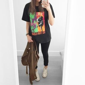 Forever21 Band Tee